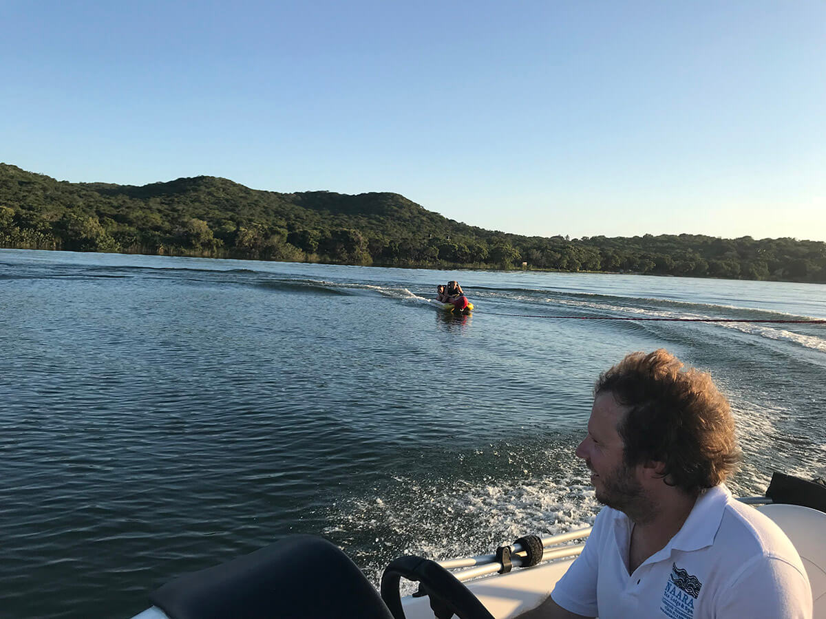 Naara Eco-Lodge Water Skiing 2