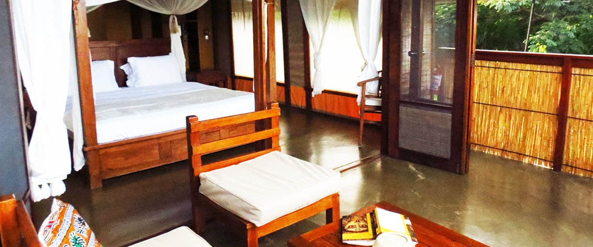 Accommodation at Naara Eco-Lodge