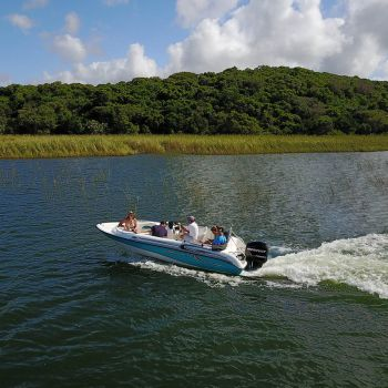 Boating at Naara Eco-Lodge