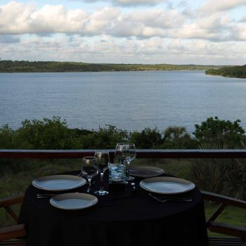 Dinner at Naara Eco-Lodge