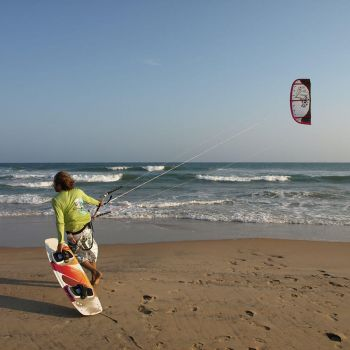 Kite Surfing at Naara Eco-Lodge