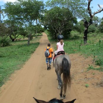 Naara Eco-Lodge Kids Riding Horse